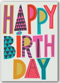 Happiest Birthday Wishes & Quotes - Happy Birthday Time Happy Birthday Images, Happy Birthday Wishes, Birthday Greetings, Happy Birthdays, Types Of Lettering, Lettering Design, Hand Lettering, Bday Cards, Diy Papier