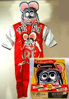 Rat Fink costume