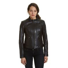 489b9c0077f 33 Best Women s Leather Motorcycle Vests images in 2019