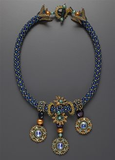 Starry Night Necklace -- Design by Laura McCabe
