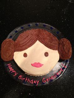Star Wars Princess Leia Birthday Cake
