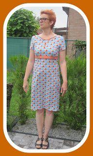 Biefrul: The Peggy dress met een hele snuif Biefrul