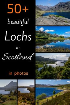 Discover the best Lochs in Scotland!  On your Scotland Travels you will discover many amazing sceneries around the lochs and lochans. Here are 50 photos of some of the most beautiful Scottish Lochs you could admire and a map to get you oriented