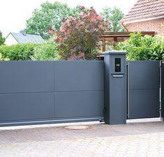 Main Entrance Door Design, Front Gate Design, Main Gate Design, House Gate Design, Door Gate Design, Fence Design, Front Gates, Entrance Gates, Gate Designs Modern