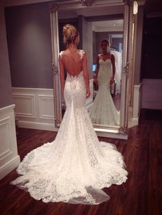 Low back dresses -pictures - Weddingbee