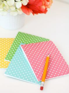 DIY: folded notecard