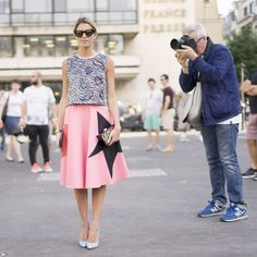 PFW Couture Day 1 - Helena Bordon com look MSGM