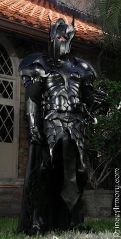 Medieval Batman armour.