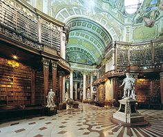 Most Beautiful Libraries in the World: Austrian National Library, Vienna