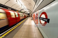 View top-quality stock photos of Tube Train Passing Green Park Tube Station. Find premium, high-resolution stock photography at Getty Images. London Underground Tube, Tube Train, London Night, Mind The Gap, London Transport, Green Park, Train Station, Night Time, Transportation