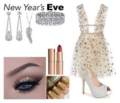"""""""NYE Party Outfit #4"""" by roobear0822 ❤ liked on Polyvore featuring Lauren Lorraine, Palm Beach Jewelry, Penny Preville, Charlotte Tilbury and nyeparty"""