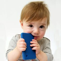 Smartphone teething toy