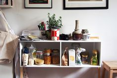 perfect kitchen clutter