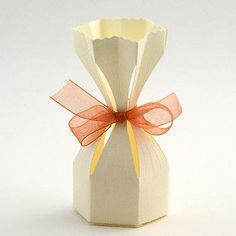 Ivory 'Silk' Saccolo Favour - Pack of 10  #mydreamwedding