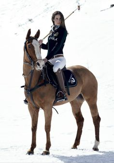 Would love to try snow polo one day..