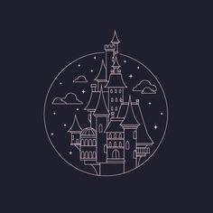 castle tattoo idea