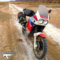 Honda XRV 750 Africa Twin RD04 1990 Moroccan Sahara Desert