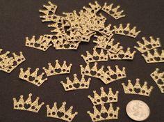 Golden Crown Confetti-Table scatter- Bridal Shower Decor- Baby Shower Decor- Wedding Decor- Quinceanera Decor-Birthday #babyshowerideas4u #birthdayparty  #babyshowerdecorations  #bridalshower  #bridalshowerideas #babyshowergames #bridalshowergame  #bridalshowerfavors  #bridalshowercakes  #babyshowerfavors  #babyshowercakes