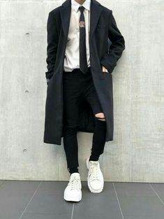 Men S Fashion Advice Info: 7782765038 - Men's fashion, style shapes and clothing tips Korean Fashion Men, Ulzzang Fashion, Asian Fashion, Boy Fashion, Fashion Edgy, Fashion Styles, Style Fashion, Fashion Vest, Latex Fashion