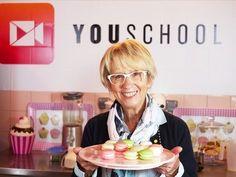 La recette des Macarons par Mercotte - YouSchool -Recette Bonus pour les élèves du CAP Pâtissier - YouTube
