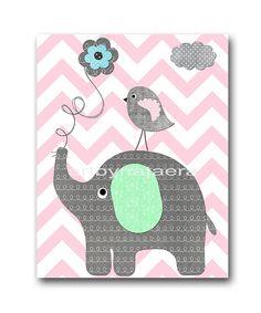Rosa juego gris Playroom jirafa vivero elefante vivero bebé