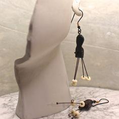 Spider Woman Earrings - Earrings in Blackwood Boho Earrings (249) by RayStudio on Etsy