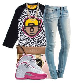 """""""72416"""" by polyvoreitems5 ❤ liked on Polyvore featuring Trukfit, MICHAEL Michael Kors, BaubleBar and Juicy Couture"""