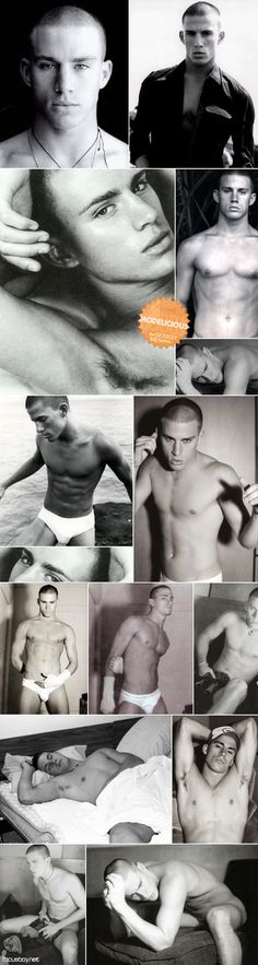 Channing Tatum woooo! whitey tighty's...you're welcome followers.