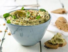 Avocado-Hummus Avocado Hummus, Guacamole, Food For Thought, Dips, Potato Salad, Spicy, Ethnic Recipes, Party, Low Carb