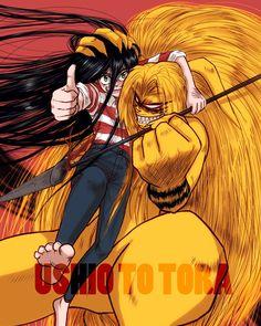 Artista: mkr (Pixiv Id Ushio To Tora, One Piece Luffy, Anime Boys, Amazing, Awesome, Random Things, Dragon Ball, Vikings, Devil