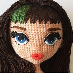 How To Crochet an Amigurumi Rabbit - Craft & Patterns Bunny Crochet, Crochet Mignon, Crochet Eyes, Crochet Unicorn, Crochet Doll Pattern, Cute Crochet, Crochet Animals, Knit Crochet, Amigurumi Doll