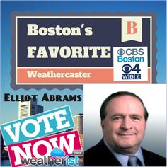It will only take 30 seconds to vote for  @Elliot Abrams @CBSboston of @CBSboston Vote Daily