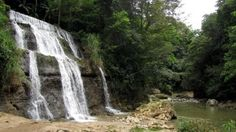 Chorros del Rio la Planta Waterfall ~ Arecibo, Puerto Rico  I broke 3 pairs of sandals trying to get under the waterfall