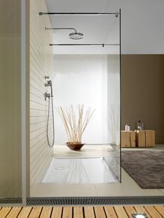 Shower tray FUTURION FLAT by @Villeroy & Boch #bathroom