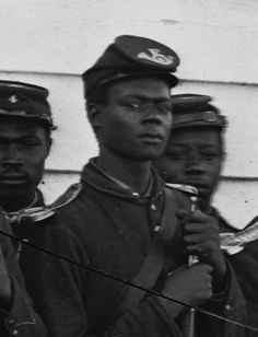 4th U.S. African Troops. They were burried alive when captured by confederate soldiers. Imagine having the audacity to want to be free and to fight for such freedom. Civil War by Brendan Hamilton, via Flickr.
