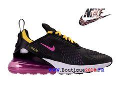 info for 215fd c14c6 Nouveaux Nike Air Max 270 GS Chaussures Pas Cher Prix Femme Noir Pourpre Jaune  AH8050-006-Nike Boutique de Chaussure Baskets Site Officiel boutique2018.fr