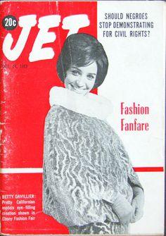 Model Betty Davillier Covers Jet Magazine - Jet Magazine, October 24, 1963