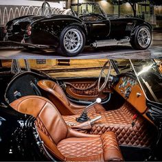 That interior in Shelby Cobra!