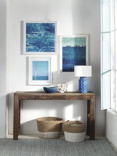luxury mediterranean homes Blue Living Room Decor, Home Living Room, Bohemian Living Rooms, Greek Decor, Home Interior, Interior Design, Interior Ideas, Mediterranean Decor, Beach House Decor