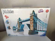 Ravensburger 3D Puzzle 46.2 Inches New Sealed Tower Bridge London #Ravensburger