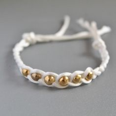A lovely and easy bracelet to make for yourself or a friend. Perfect for any outfit.