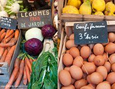 Légumes frais du jar