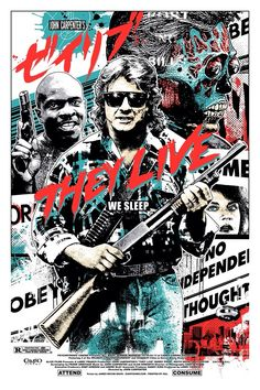 They Live movie cover art cool find on tumbler.