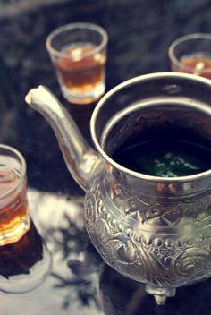 Thé à la menthe comme enTunisie