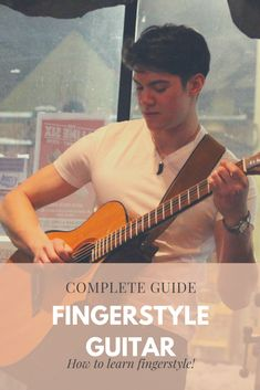 How to learn fingerstyle guitar (Complete Guide) - Stephen L Smith Guitar Tabs Songs, Music Songs, Music Videos, Fingerstyle Guitar Lessons, Guitar Classes, Guitar Chords Beginner, Guitar Exercises, Guitar Lessons For Beginners, Cool Electric Guitars