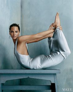 The most inspiring images from our archives, pictures celebrating the pure power of women—Christy Turlington. More on Vogue.com