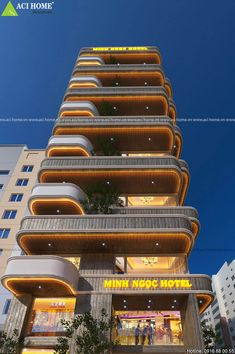 Home Doctor, Facade Lighting, Facade Architecture, Facade House, Architect Design, Apartment Design, Cladding, Landscape Design, Skyscraper