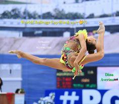 Dina AVERINA (Russia) ~ Clubs @ World Challenge Cup Kazan 2017 Photographer Oleg Naumov.