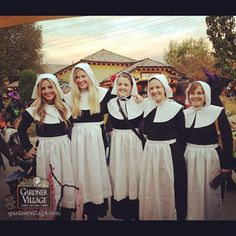 Salem Witches at Witches Night Out at Gardner Village