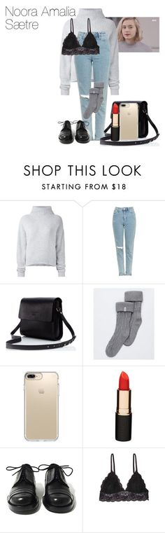 Noora Amalia Saetre|Skam by valeria-papina on Polyvore featuring мода, Le Kasha, Topshop, UGG, Speck, Mimco, Achilles Ion Gabriel и Humble Chic